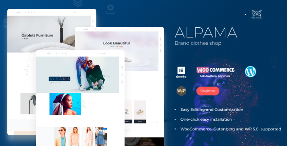 Alpama – Creative eCommerce WordPress Theme